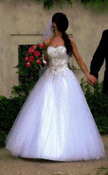 Najpiękniejsza Suknia ślubna!